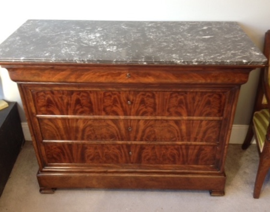 French Louis Phillip  Commode / chest of drawers