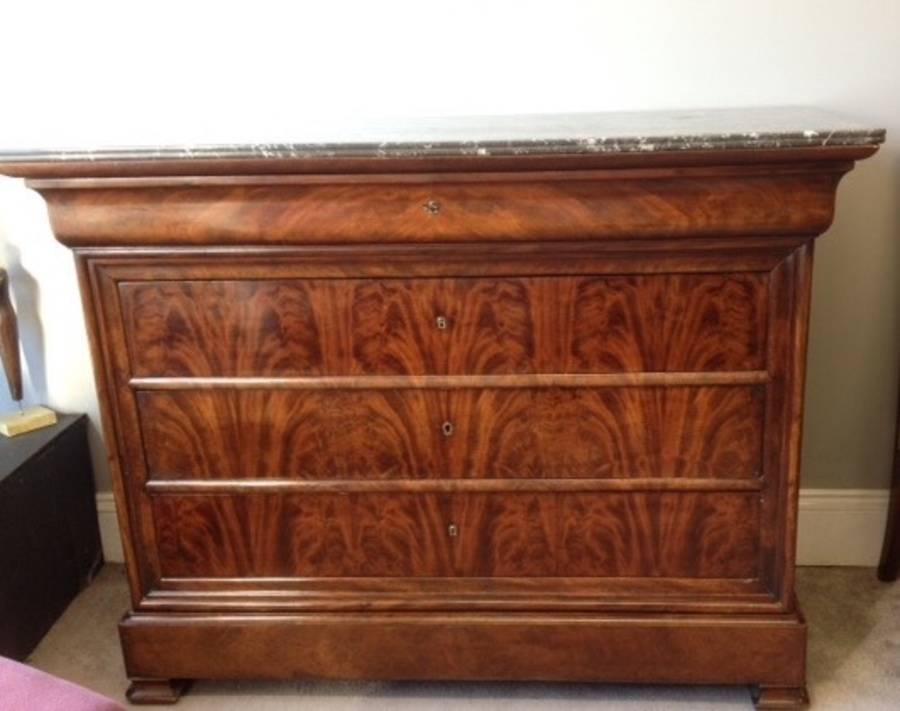 Antique  French Louis Phillip  Commode / chest of drawers