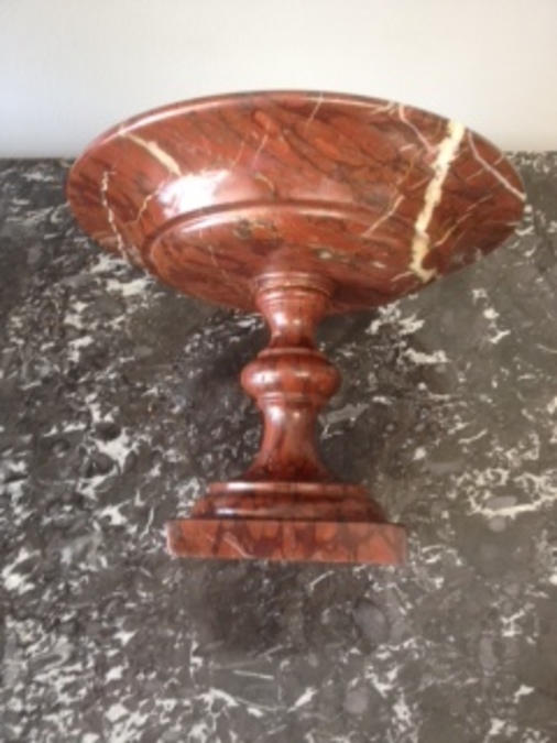 Antique Marble Tazza