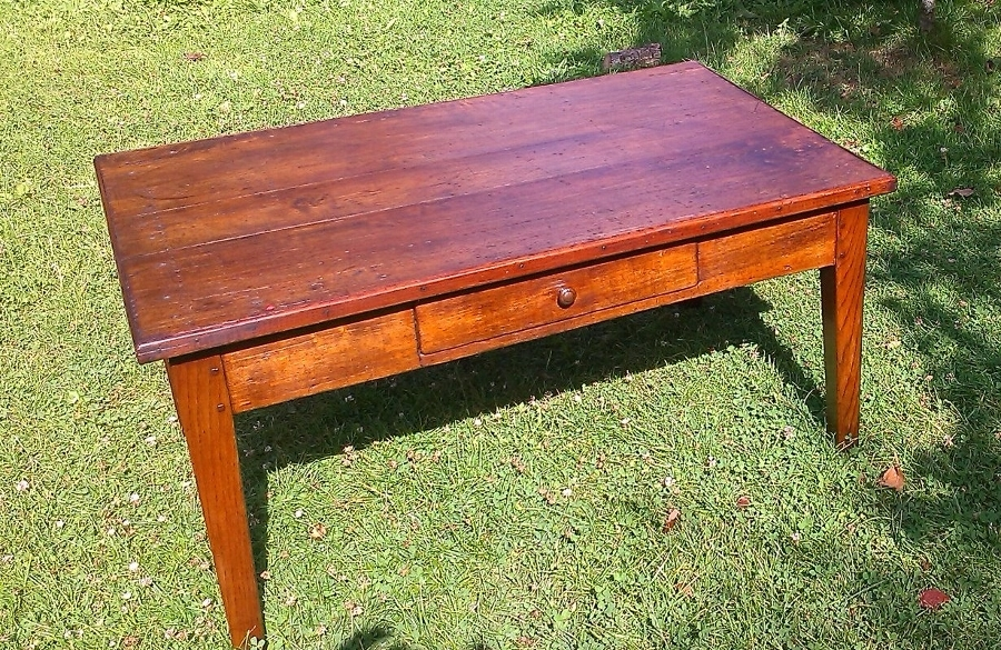 Antique French Farmhouse 'Coffee' Table
