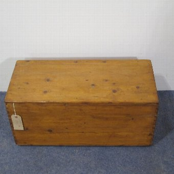 Antique Gorgeous Little Victorian Toy Box c.1900