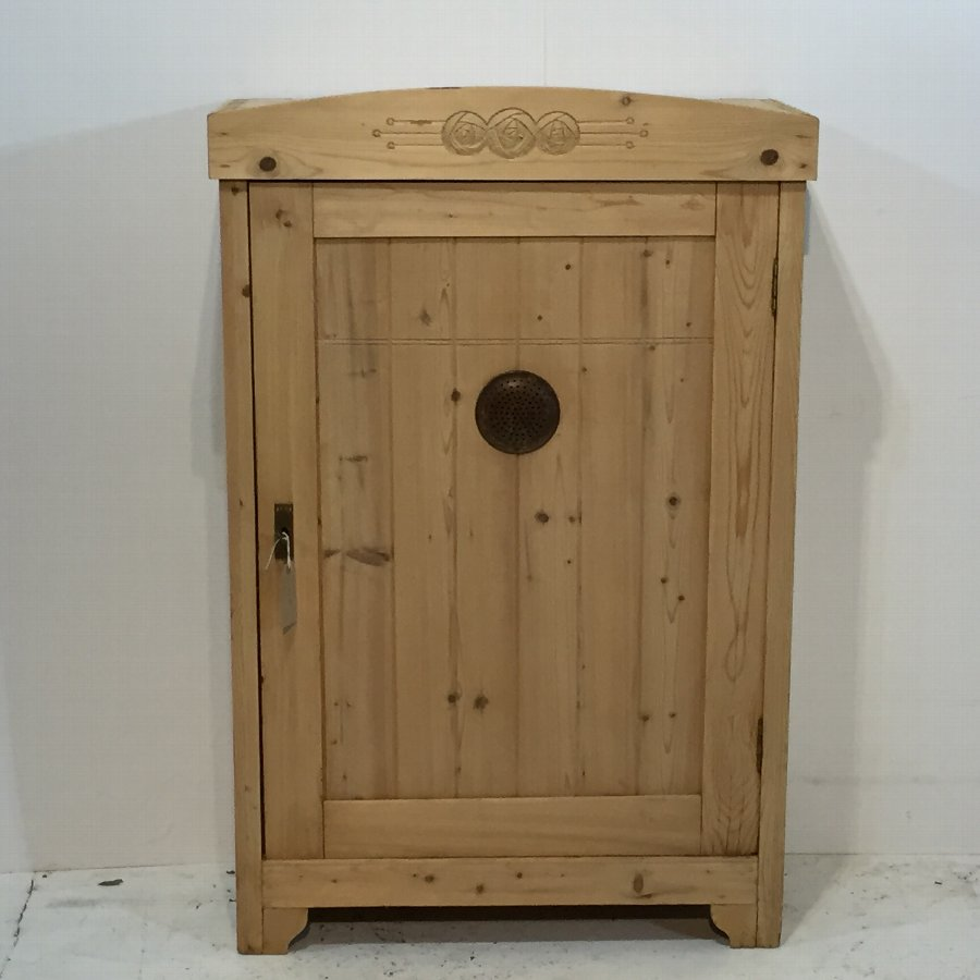 Antique Pine Food Cupboard c.1920's