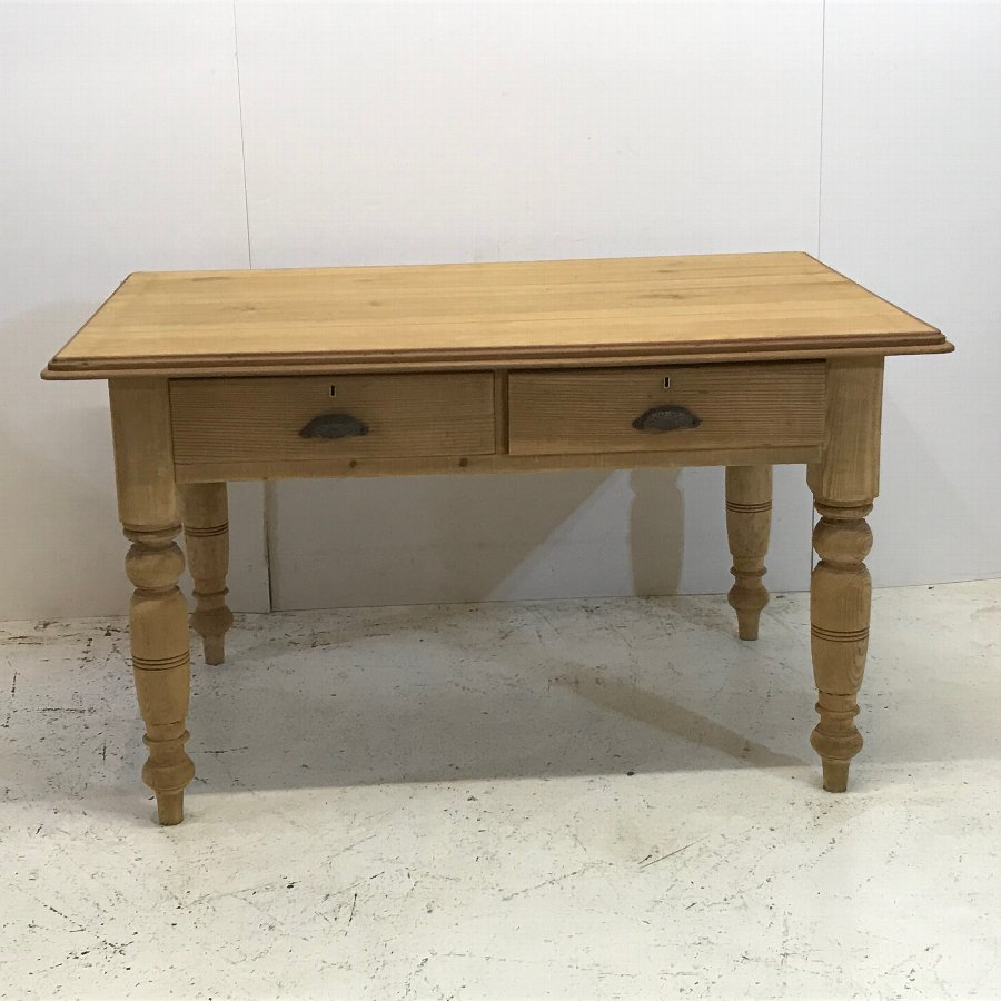 Old English Pine Country Kitchen Table