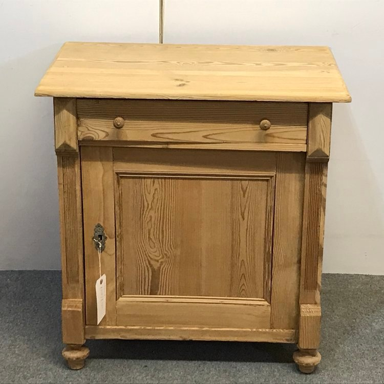 SMALL OLD PINE FARMHOUSE CUPBOARD