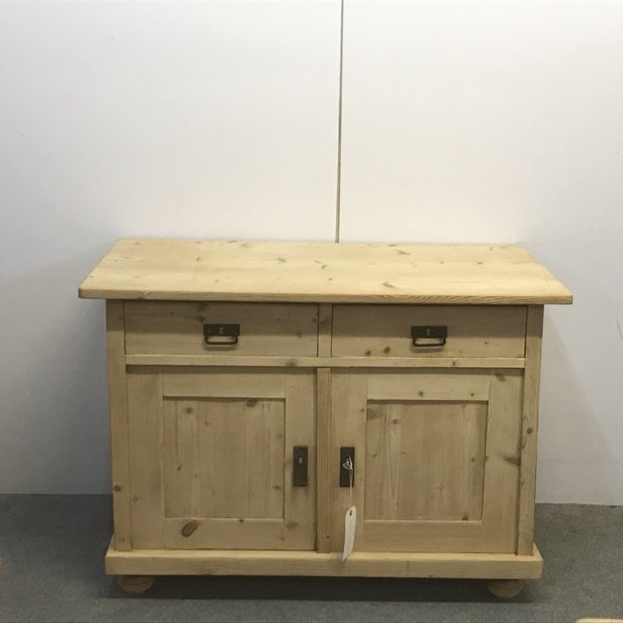 ANTIQUE PINE KITCHEN STORAGE CUPBOARD