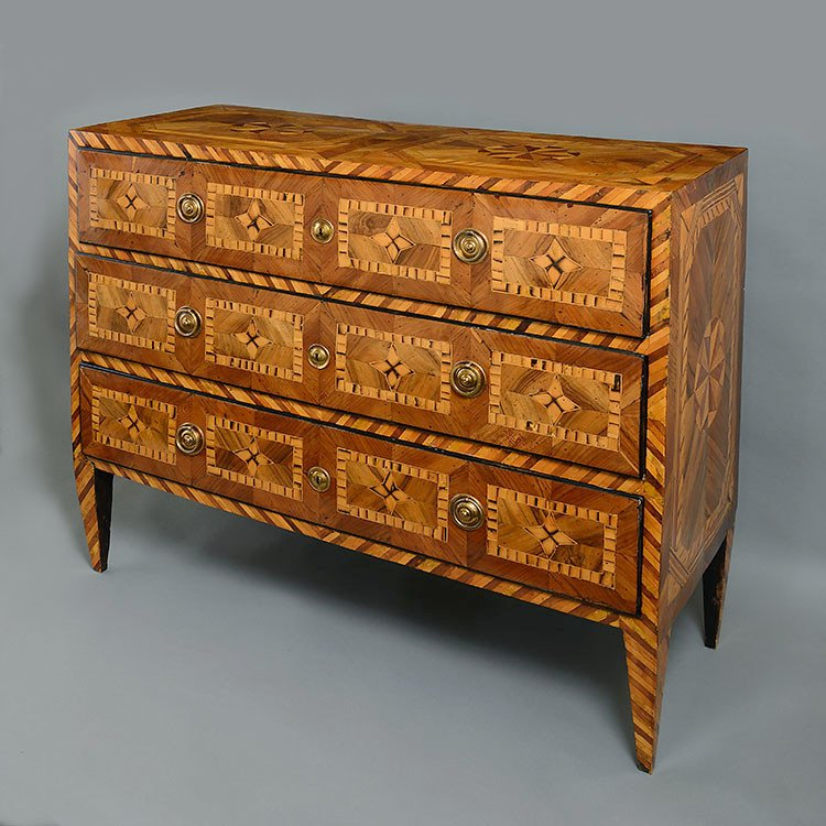 An Impressive Late 18th Century North Italian Commode