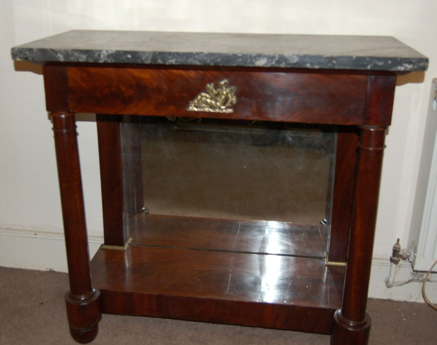 Regency Console Table