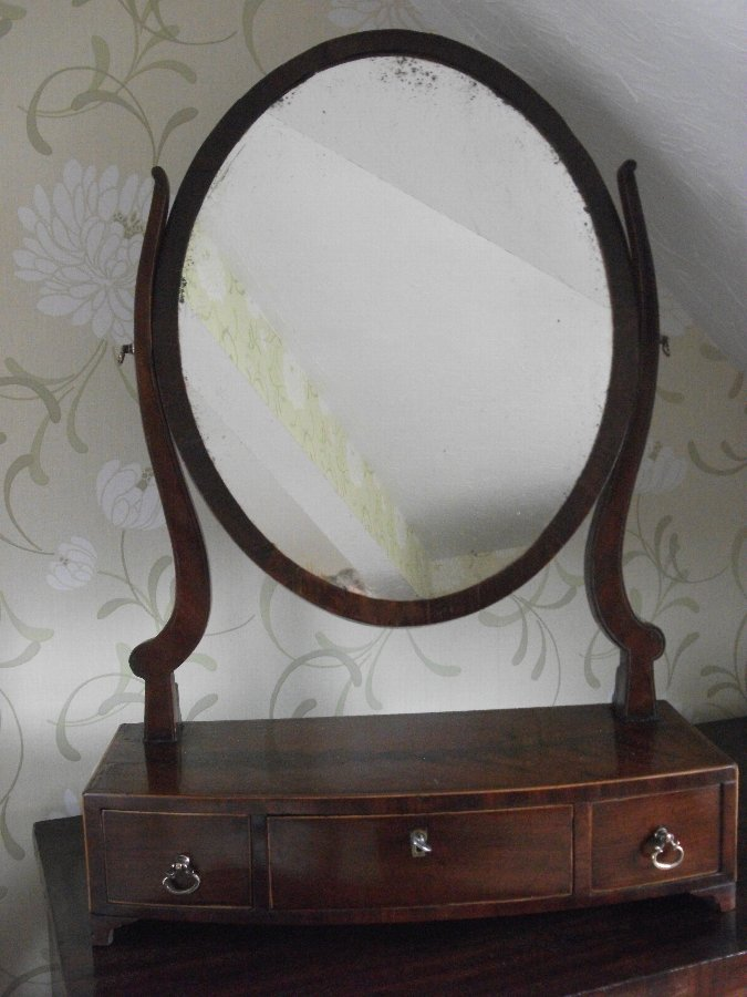 George III Toilet Mirror