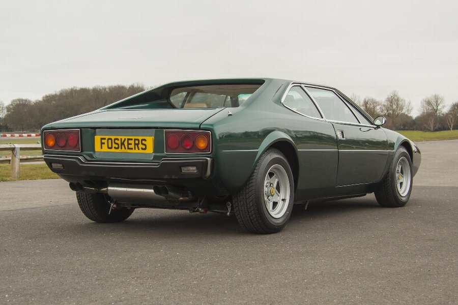 Antique Ferrari Dino 308 GT4 (1978)