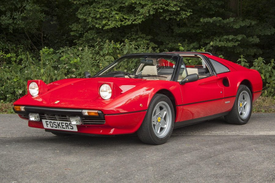 Antique Ferrari 308 GTS (1979)