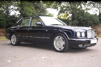 Antique 2007 Model-57 Bentley Arnage R. Finished in Black Sapphire £46950