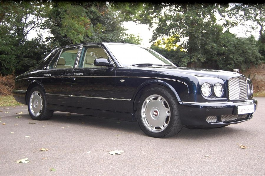 2007 Model-57 Bentley Arnage R. Finished in Black Sapphire £46950