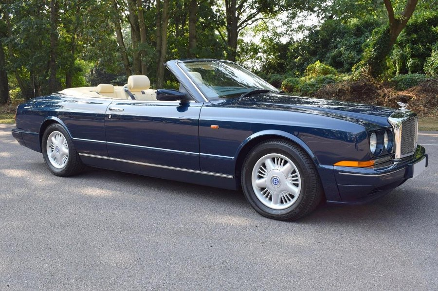 1996 N Bentley Azure in Royal Blue £75950