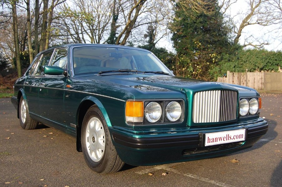 1996 N Bentley Brooklands in unmarked Sherwood Green £16950