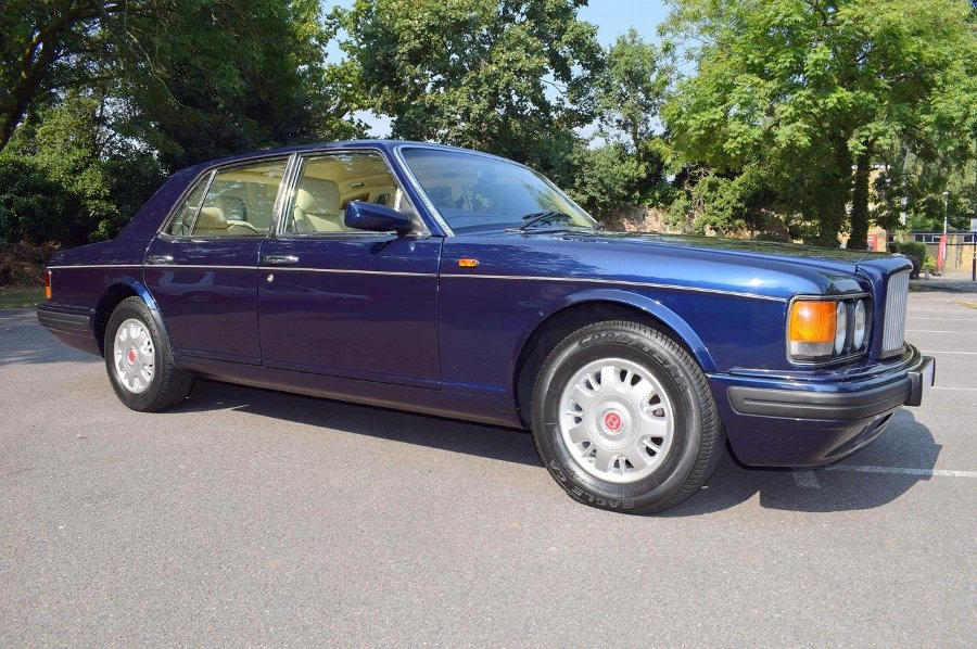 1996 N Bentley Brooklands in Peacock Blue £16950