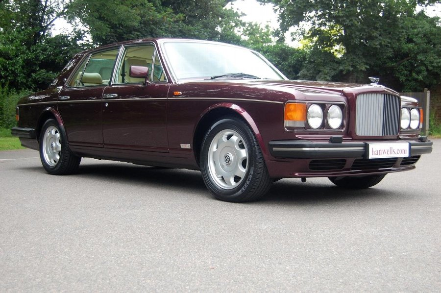 1994 L Bentley Turbo R MK III in Wildberry £15950