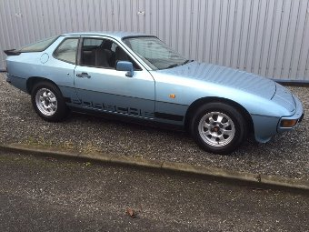 Antique 1981 Porsche 924 LUX (Ref: PJ31) Classic European