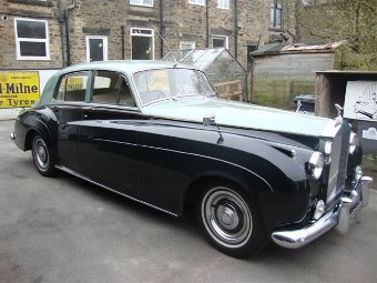 Antique 1957 Rolls Royce Silver Cloud I (Ref: NR 681) Classic English
