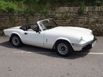Antique 1981 Triumph Spitfire 1500 MK5 (Ref: PJ42) Classic English