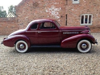 Antique 1937 Buick Opera Coupe (Ref: PJ12) Classic American