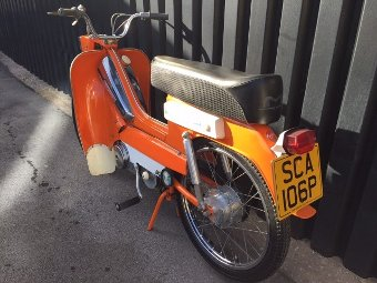 Antique 1976 Mobylette 50cc Moped (Ref: PJ50) Classic Motorcycles