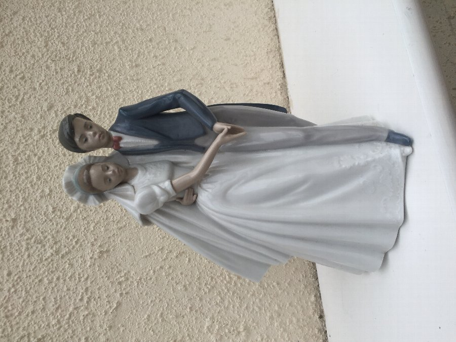 "Lladro/Nao ""Unforgettable Dance"" item #1247"