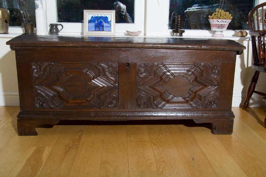 GERMAN 17thc COFFER