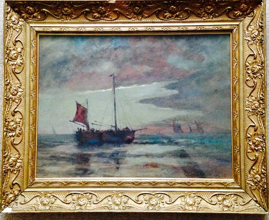 ORIGINAL FRAMED SCOTTISH IMPRESSIONIST WATERCOLOUR PAINTING EMILY MURRAY PATERSON RSW SWA (1855-1934)