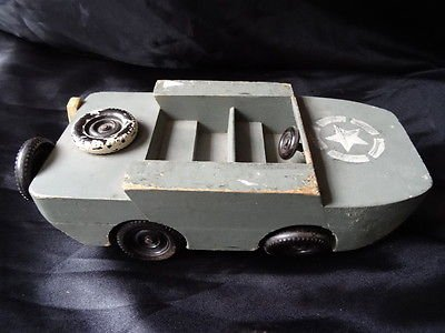 Vintage Military US Army Amphibious Car/Boat World War 2