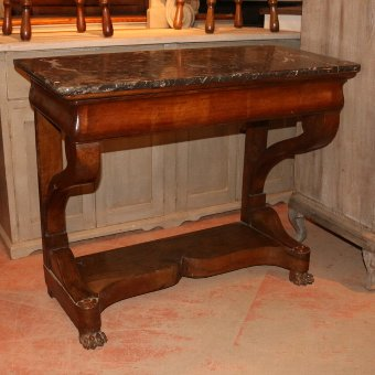 Antique  French Console Table