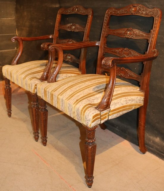 Antique Italian desk chairs