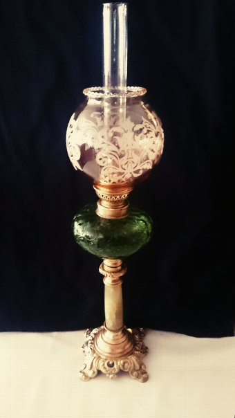 Antique Antique Banquet Kerosene lamp