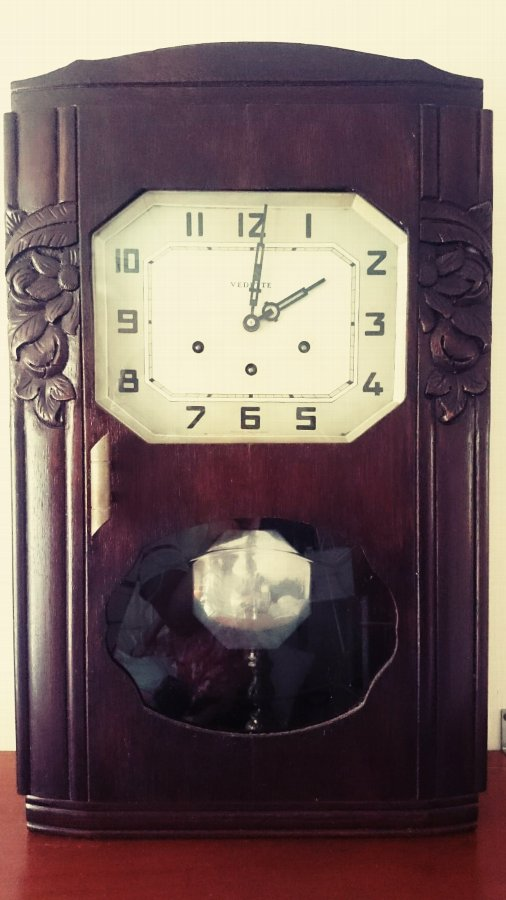 Antique Vedette Wall Clock