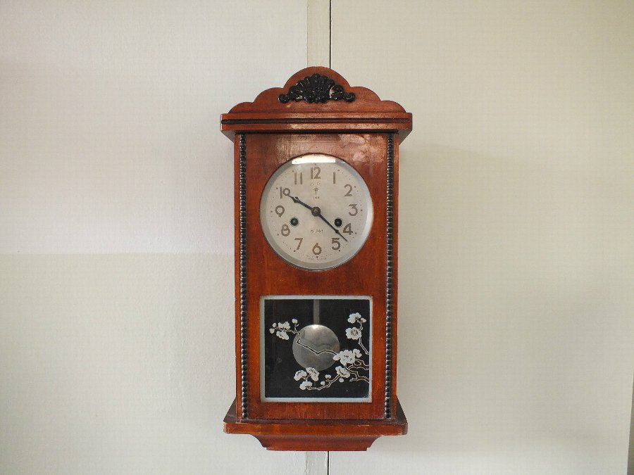 POLARIS WALL VINTAGE CLOCK 15 DAY