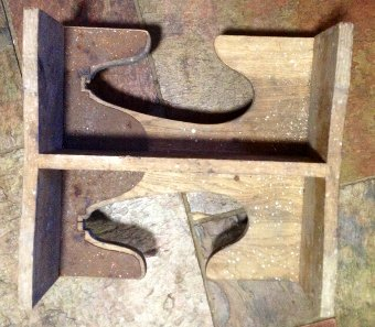 Antique Super rare Vintage Wooden Heavy Duty Boot Jack , probably Country Estate, Hunt Kennels or Military