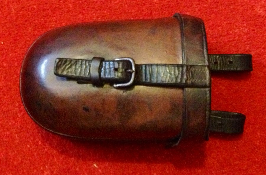 Superb vintage leather cased  huntsman's