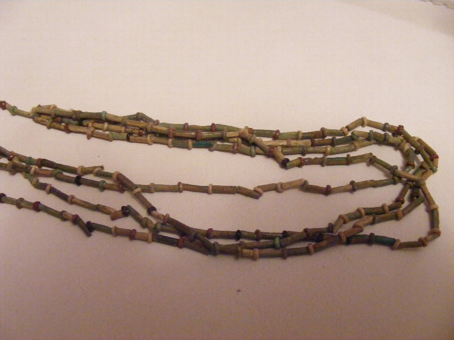 ancient egyptian mummy necklace