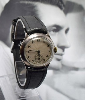 Antique Art Deco 1930's Mens Manual Wrist Watch