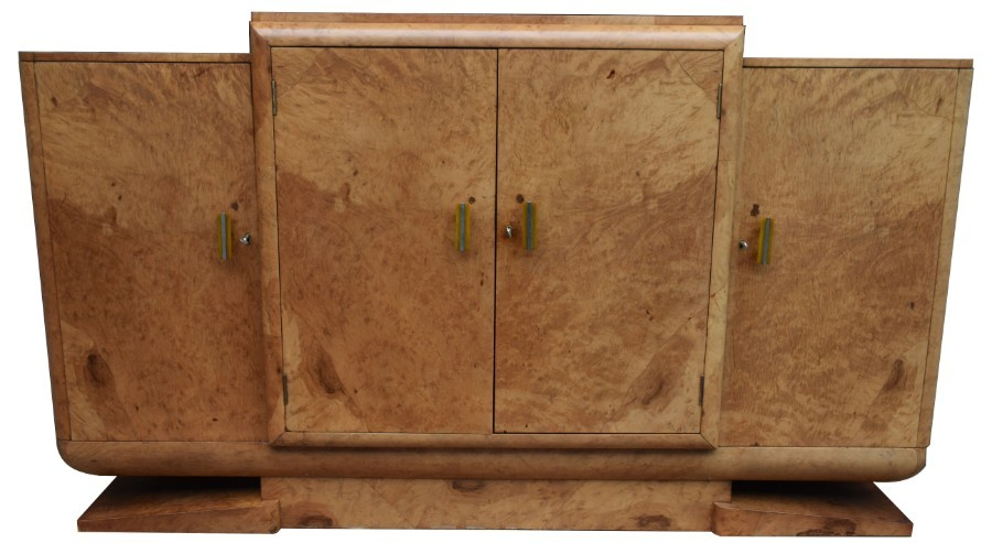 1930's Art Deco Sideboard by Harry & Lou Epstein Brothers