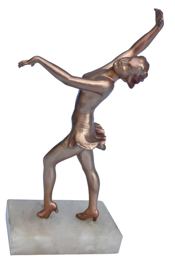 Art Deco Spelter Figure