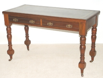 Antique Victorian Writing Table by Maple & Co