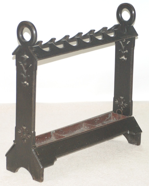 Antique Arts and Crafts Oak Whip and Stick Stand