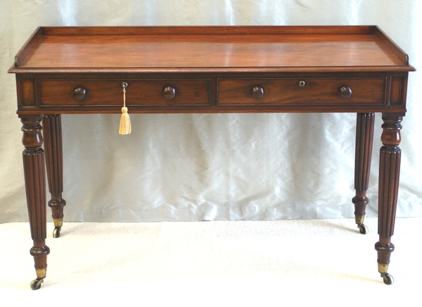 Antique William IV Writing Table in Style of Gillows