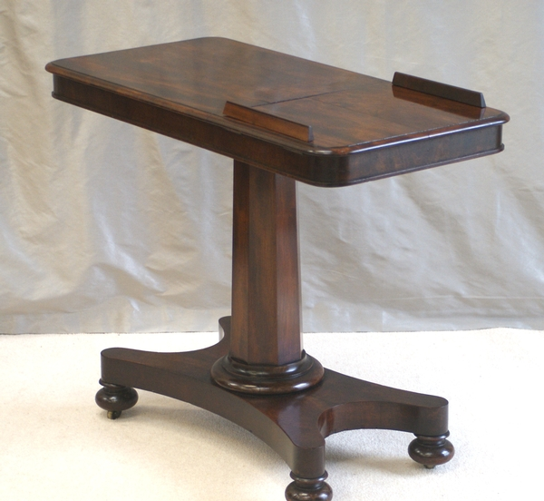 Antique Antique Mahogany Reading Stand