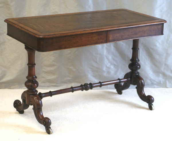Victorian Twin Drawer Writing Table