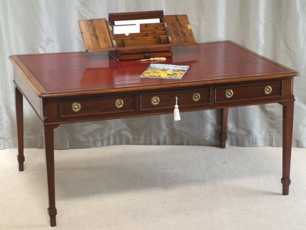 Antique Antique Mahogany Library Table