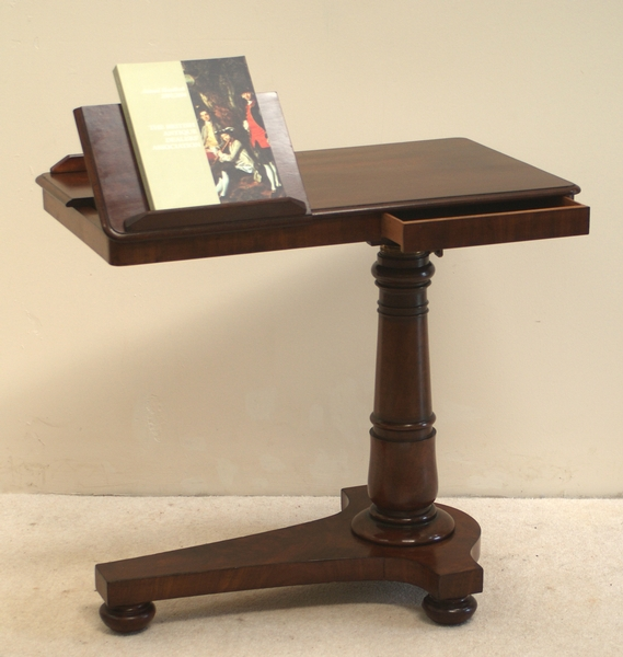 Antique Reading Table, Music Stand