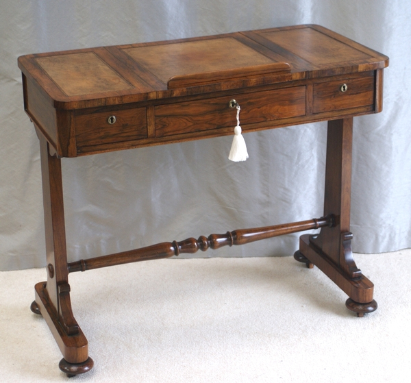 Antique Small William IV Library Table