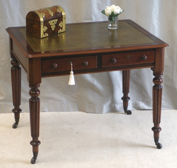 Antique Writing Table - Gillows Style