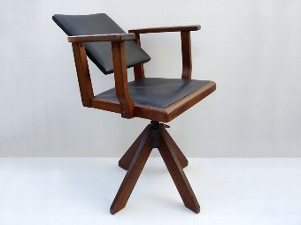 Antique Bauhaus Chair, Desk Chair, German Furniture, Bauhaus Furniture